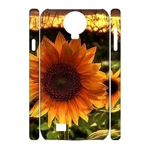 Sunflower DIY 3D Phone Case for SamSung Galaxy S4 I9500 LMc-11038 at LaiMc