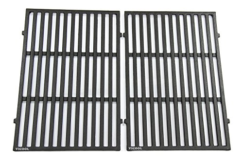ron Cooking Grid Replacement for Weber Spirit 300 Series, Series 310, Series 320 Gas Grills, 7638, Set of 2, (17.5