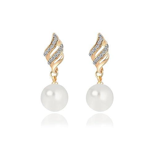 Brautschmuck ohrringe perlen