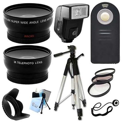 Ultimate Paquete de accesorios para Nikon D3000, D3100, D3200 ...