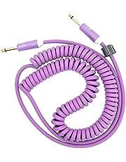 Cable de guitarra en espiral para instrumento