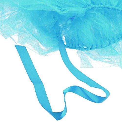 - BOZLIZ - Hawaiian Party - Birthday Wedding Baby Shower Table Tulle Tutu Skirt Decoration - Linen Cloth Tables Gray Rectangle Yellow Metallic Blue Green Tulle Packs Round Pink White Rose Disposabl