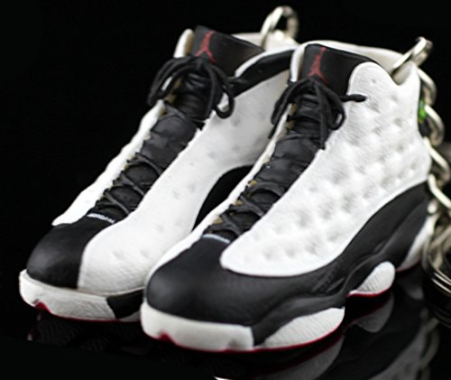 new style f94c1 ca246 Air Jordan XIII 13 Retro He Got Game White Black Red Panda OG Sneakers Shoes  3D