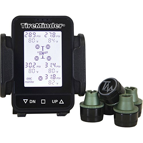 TireMinder TM55-A Wireless Tire Pressure Monitoring System with 4 Transmitters - Tire Minder Rv