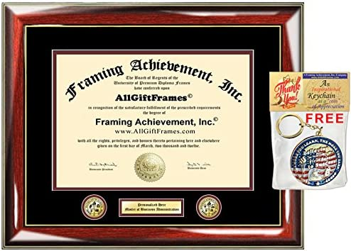 Doctorate Sculpted Foil Seal /& Name Graduation Diploma Frame 22 x 30 Gold Accent Gloss Mahogany Signature Announcements Virginia-Military-Institute Undergraduate