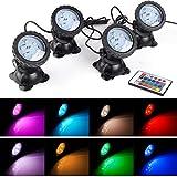 Pond Lights Waterproof IP 68 Multi-Color