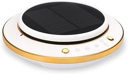 ZZG Purificador de aire del coche multifuncional solar inteligente ...