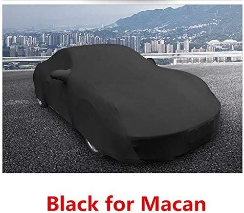カーカバー ポルシェ・マカン911 918 718アクセサリー用ベルベットフル・車体保護カバーフィット Tani Katsura (Color Name : Black for Macan)