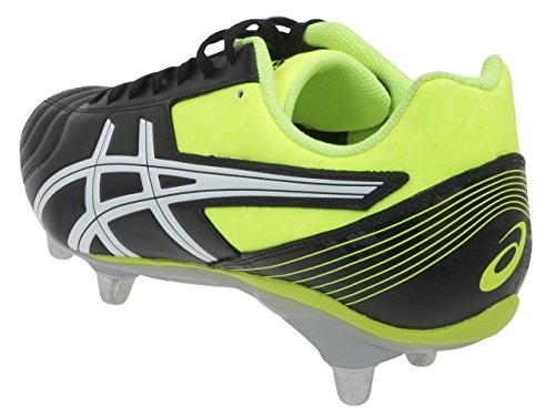 Asics Lethal Rugby Scarpe Tackle Black Yellow Aw15 pUqwpC7