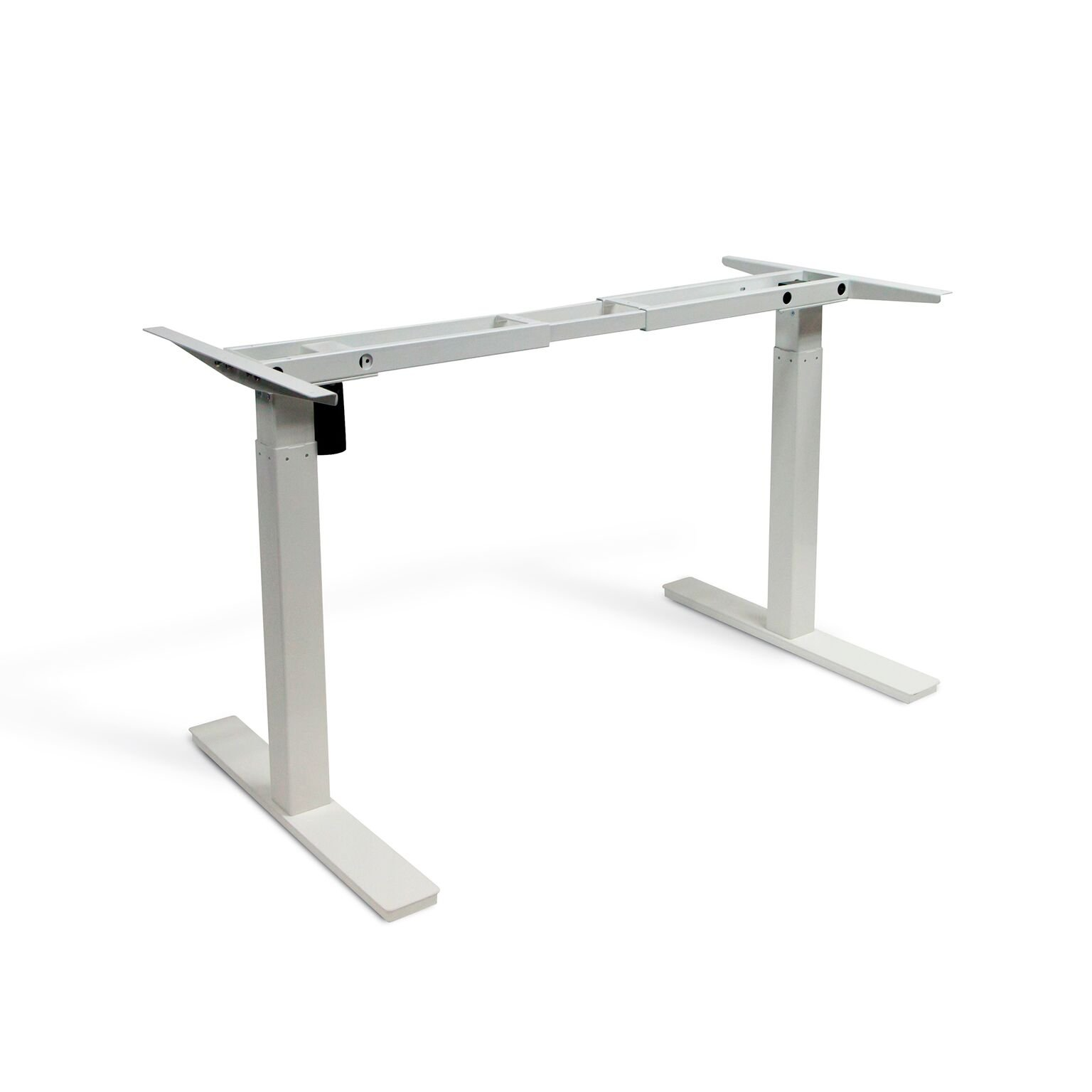 Autonomous SmartDesk - Height-Adjustable Standing Desk - Single Motor - Grey Frame