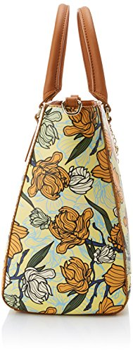 Trussardi Jeans Ischia, Borsa Tote Donna, 38x28x17 cm (W x H x L) Marrone (Leather)