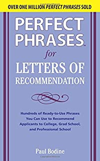 Instant recommendation letter kit how to write winning letters of perfect phrases for letters of recommendation perfect phrases series spiritdancerdesigns Images