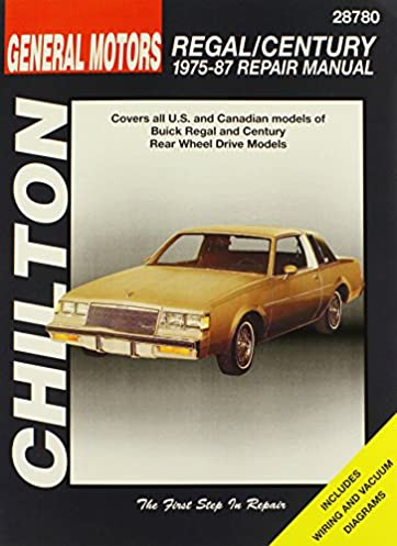 buick regal and century 1975 87 chilton total car care series rh amazon com Chevy G-Body Cars G-Body Racing
