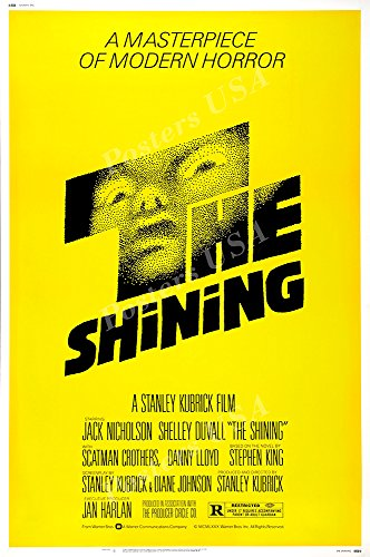 """Price comparison product image Posters USA The Shining GLOSSY FINISH Movie Poster - FIL952 (24"""" x 36"""" (61cm x 91.5cm))"""