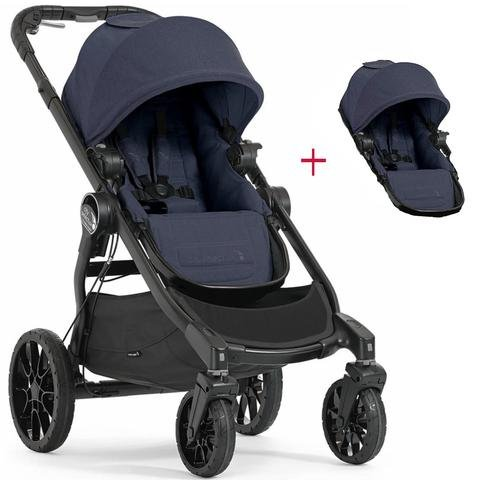 Baby Jogger 2017 City Select Lux Double Stroller (indigo)