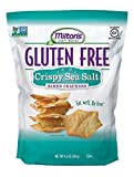 Milton's Gluten Free Baked Crackers, Crispy Sea Salt, 4.5 Ounce