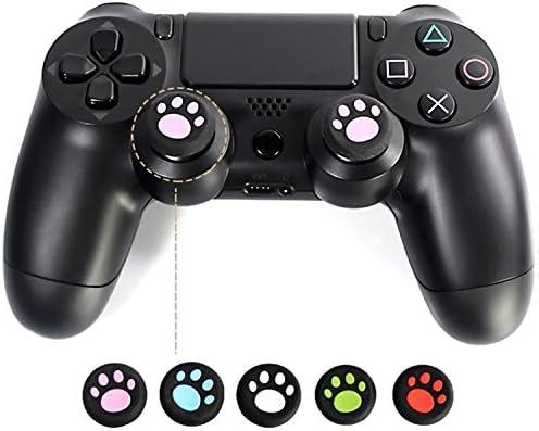 Vococal - 8 Piezas Stick de Control Analógico Pulgar/Palo de Pulgar Tapa Cubierta para PS4 Sony PS3 Microsoft Xbox One / 360: Amazon.es: Electrónica