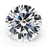 25PCS 10.0mm 5A Round Machine Cut White Cubic Zirconia Stone Loose CZ Stones