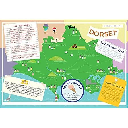 Dorset – I Love My County 400 Piece Jigsaw Puzzle 51BZ0oW49oL