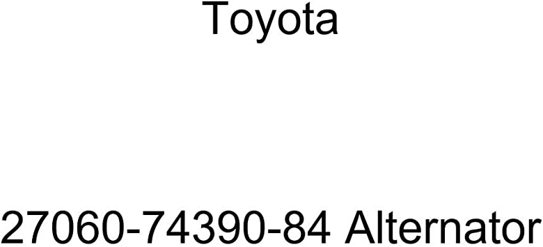 Toyota 27060-74390-84 Alternator