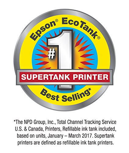 Epson Expression ET-2750 EcoTank Wireless Color All-in-One Supertank Printer with Scanner and Copier by Epson (Image #1)