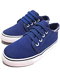 Urban Fit Boy Fashion Canvas Lightweight Low Top Sneaker...