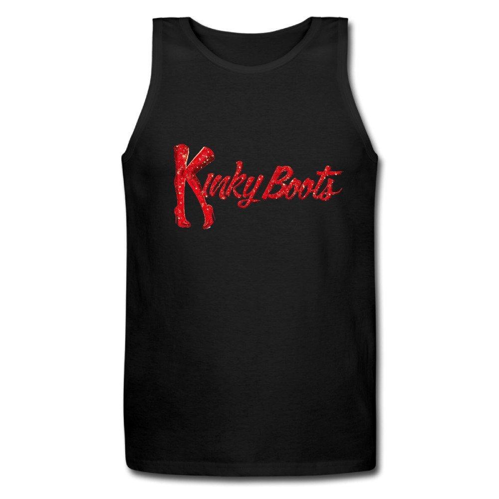 new Kinky Boots Men's Funny Tanks,,Black
