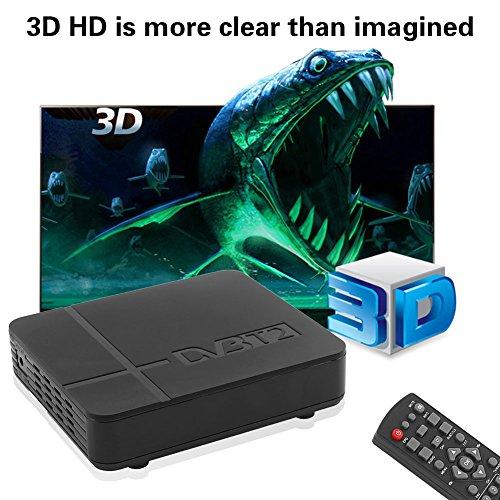 Hongfei TV Box, K2 DVB-T/T2 Digital Terrestrial Receiver H.264 MPEG-2/4 PVR TV Box Set Top HDTV