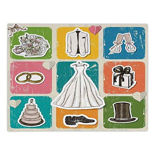 iPrint Rectangular Satin Tablecloth,Wedding Decorations,Vint