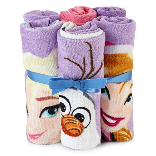 Review Disney Frozen 6pc Washcloth