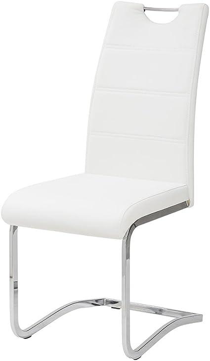 41 x 61 x 101 cm Bianco Sedia Idra Tuoni