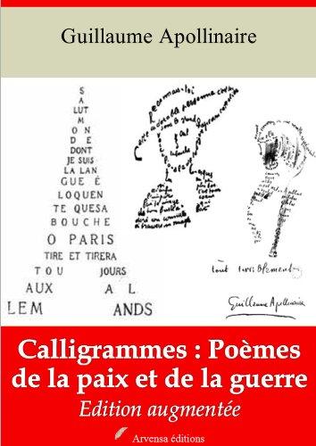 Amazoncom Calligrammes Poèmes De La Paix Et De La Guerre