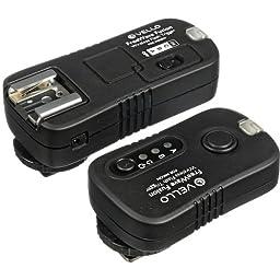 Vello FreeWave Fusion Wireless Flash Trigger & Remote Control (for Most Nikon DSLRs) - Nikon: D4, D3, D3x, D3s, D2, D2H, D2Hs, D2X, D2Xs, D1, D1H, D1X, Df, D90, D7000, D7100, D5300, D5200, D5100, D5000, D3300, D3200, D3100, D200, D300, D300x, D300s, D600,