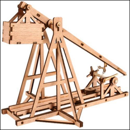 DESKTOP Wooden Model Kit Trebuchet by Young Modeler (Young Models compare prices)