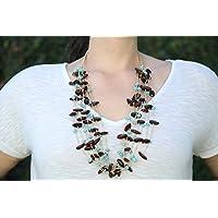 Collar de Huanacaxtle y Turquesa