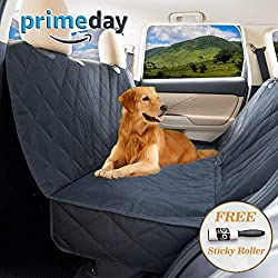 Dog seat Cover for Back seat - Hammock Dog car seat Covers for Large Dogs, Waterproof, protrct Your Vehicle only with Durable Back seat Cover for Dogs - Universal fit
