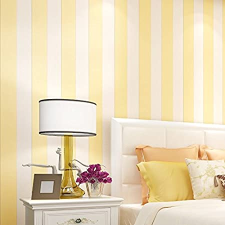Huangyahui modern fashion simple vertical striped wallpaper bedroom living room sofa