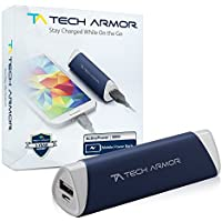 3000mAh ActivePower PowerBank by Tech Armor External Battery Portable Dual USB Charger Power Bank - Fast Charging, High Capacity, Ultra Compact