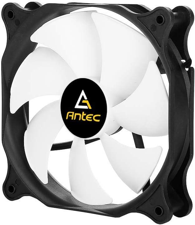 Antec PWM 120mm Case Fan, PC Fans, Computer Fans 1600±200 RPM, 4-pin Connector, PF12 Series Single