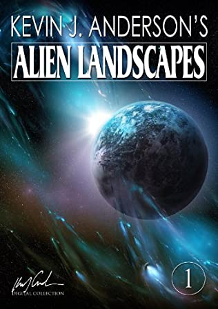 book cover of Alien Landscapes 1