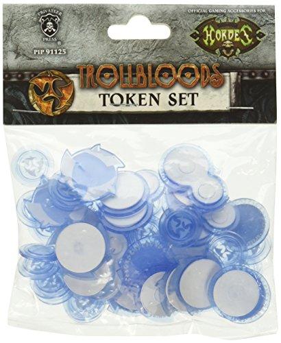 (Privateer Press Trollbloods Token Set Miniature Game PIP91125)