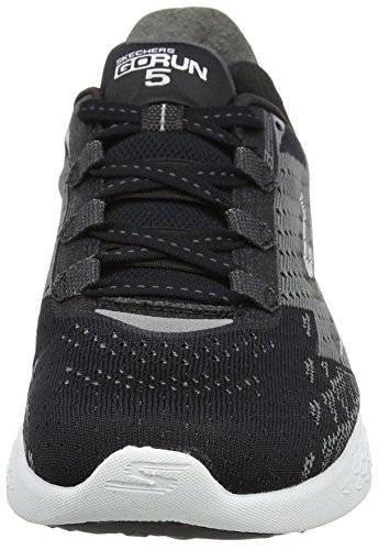 5 Outdoor White Nero Run Uomo Sportive Scarpe Black Go Skechers qPO4SS