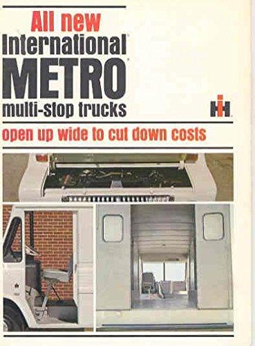 1965 International Metro Panel Delivery Truck Brochure