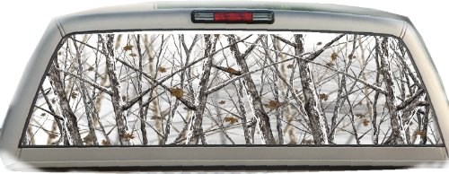 Camo- Snowstorm- 22 Inches-by-65 Inches- Rear Window Graphics (Rear Window Fishing Graphics compare prices)