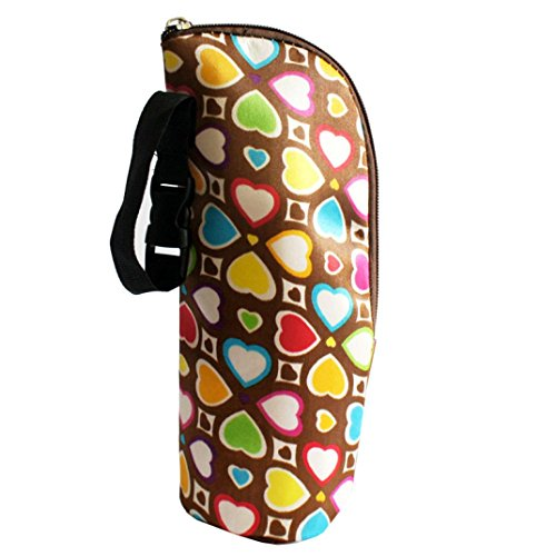 DZT1968 New Baby Thermal Feeding Bottle Warmers Mummy Tote Bag Hang Stroller (D) (Baby Bottle Warmer Cooler compare prices)