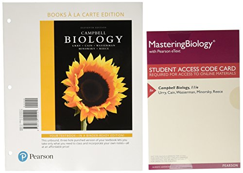 Top 5 best biological science loose pages w/masteringbio access for 2019