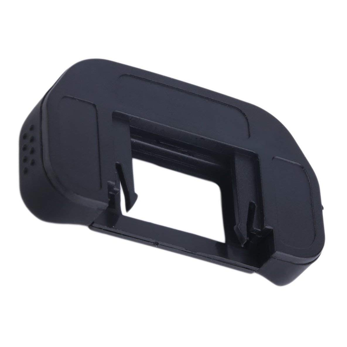 en Stock Negro 50mm x 30mm 15pcs Goma Ocular Ocular EB para Canon para EOS 10D 20D 30D 40D 50D 60D 550D