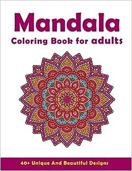 Amazon.com: Mandala Coloring Book For Adults: Beautiful and ...