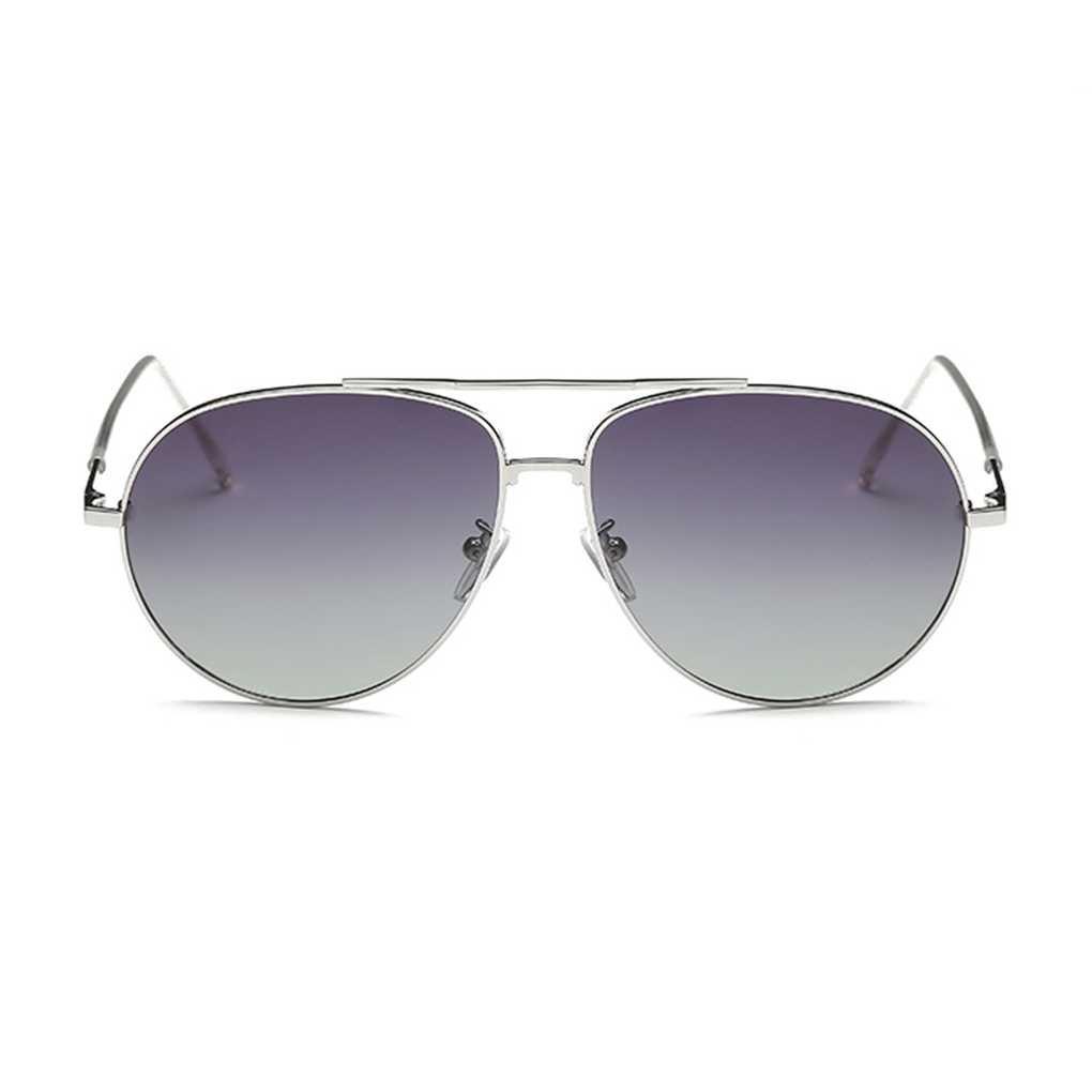 Providethebest Coolsir Pequeño Retro Gafas de Sol Redondas Hombres Mujeres Metal de la Vendimia Marco del Espejo Gafas de Sol UV400 de Conducción Bloqueador Solar Gafas 3# Provide The Best