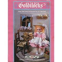 """Goldilocks Fairy Tale Fancy to Crochet for 13"""" Bed Doll"""